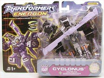 Transformers Energon CYCLONUS Helicopter wCRUMPLEZONE ~ K-B TOYS Exclusive