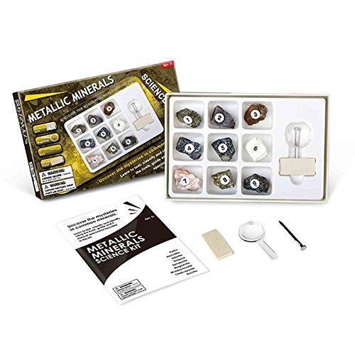 Fun Rocks Science Kit - Metallic Minerals