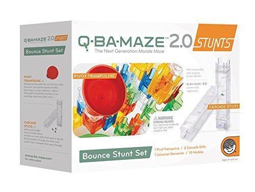 Q-BA-MAZE 20 Bounce Stunt Set Model MW-56195
