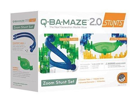Q-BA-MAZE 20 Zoom Stunt Set by Mindware