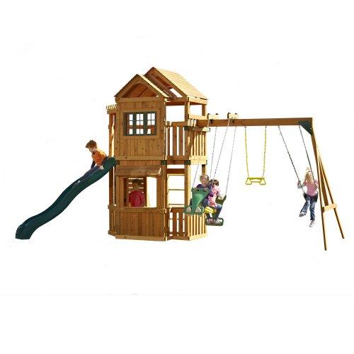 Swing-N-Slide Mountain Hollow Swing Set