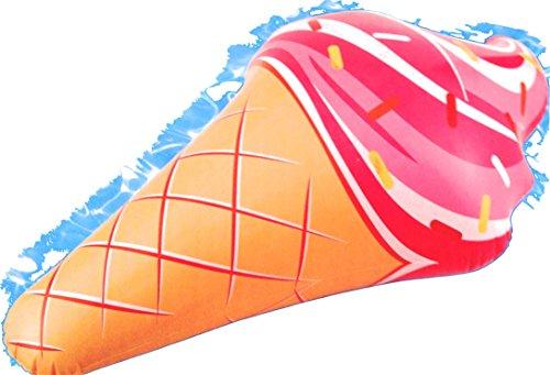 Ice Cream Cone Lounge Inflatable Raft Float