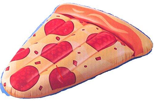 Pepperoni Pizza Slice Lounge Inflatable Raft Float