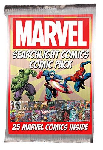 25 Marvel Comic Bundle  Bonus Searchlight Comics Sticker