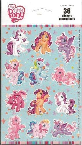 My Little Pony Scrapbook Stickers