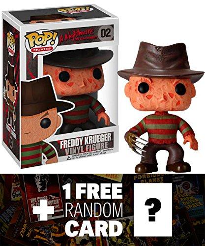 Freddy Krueger Funko POP Horror Movies x A Nightmare on Elm Street Vinyl Figure  1 FREE Classic Sci-fi Horror Movies Trading Card Bundle 22918
