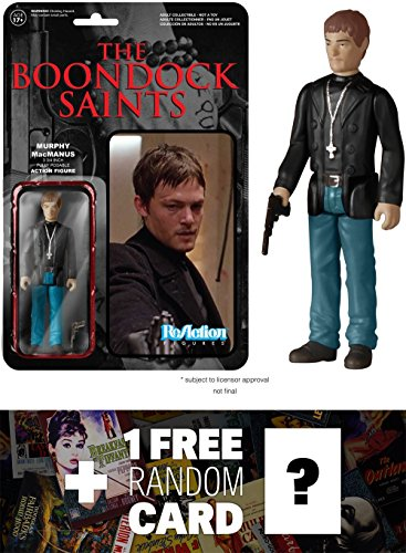 Murphy MacManus Funko ReAction x The Boondock Saints Action Figure  1 FREE Classic Movie Trading Card Bundle 51860