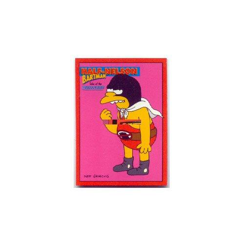 The Simpsons Skybox Bartman Trading Card Half-Nelson B9