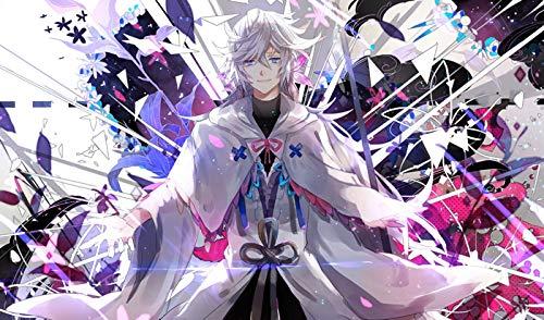 PWorld FateStay Night Merlin Custom PLAYMAT Anime PLAYMAT Stitched 518