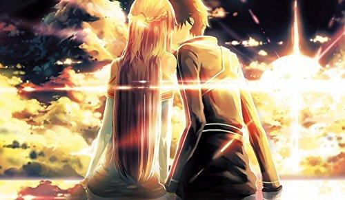 Sword Art Online Kirito Asuna CUSTOM PLAY MAT ANIME PLAYMAT 164