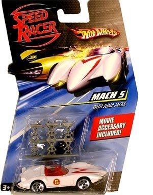 Speed Racer 164 Die Cast Hot Wheels Car Mach 5 with Jump Jacks