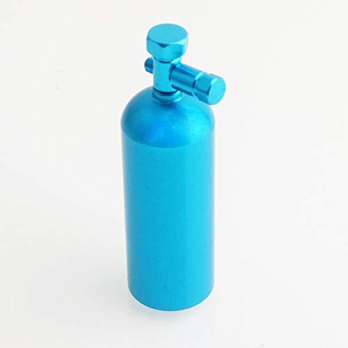 Toyoutdoorparts RC Fopower Aluminum Blue Fire Extinguisher Decorative 110 Electric Rock Crawler SCX10 D90 Wrangler CC01