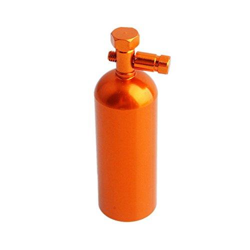 Toyoutdoorparts RC Fopower Aluminum Orange Fire Extinguisher Decorative 110 Electric Rock Crawler SCX10 D90 Wrangler CC01