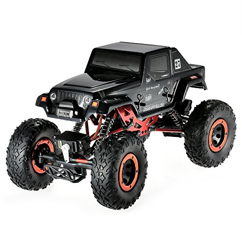 Goolsky HSP 94680T2 118 24Ghz 3CH 4WD Electric Powered Brushed Motor RTR Rock Crawler RC Car with Two Servo