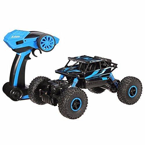 HB 118 24G 4WD Rock Crawler RC Car Radio Control Vehicle P1802 Blue