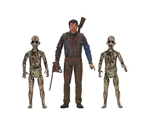 NECA EVIL DEAD 2 Bloody Ash Faces Demon Spawn Action Figures