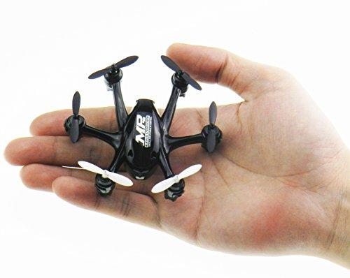NiGHT LiONS TECH X800S 6 Axis Gyro Headless 24G Mini RC Pocket Drone Quadcopter 3D Roll Auto ReturnBlack