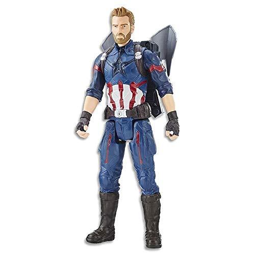SAMER Marvel Avengers 3 :Captain America Toys E0607 12 Inch Captain America Action FigureSuitable for Children Aged 4 and Over