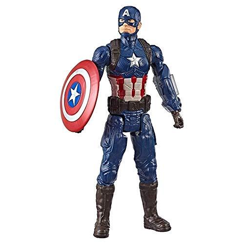 SAMER Marvel Avengers Endgame Titan Hero Series - Captain America Action Figure 12 InchHeight About 309cm Captain America Toys