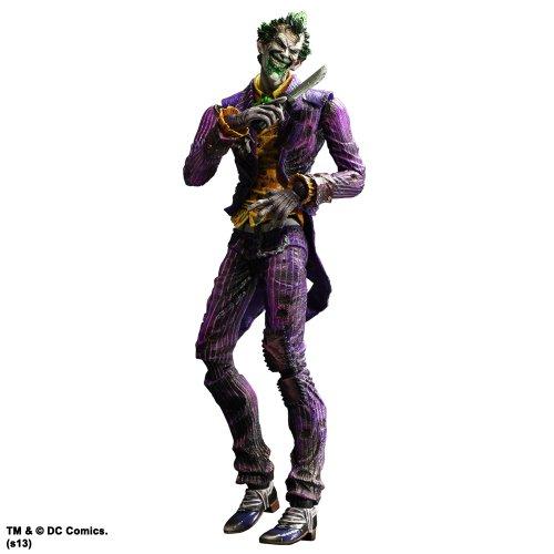 Batman Arkham City Play Arts Kai Joker Action Figure