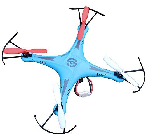 Night lions Tech TM SXMJ 102 Spy 24G 6 axis ufo mini RC Drone Quadcopter Aerobatics RTF Blue