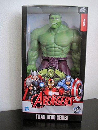 Marvel Avengers Titan Hero Series Incredible Hulk 12 Action Figure 2015 New Look