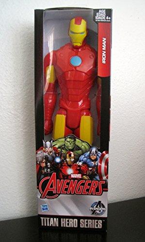 Marvel Avengers Titan Hero Series Iron Man 12 Action Figure 2015 New Look