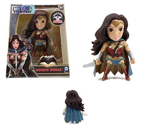New Batman V Superman - 4 Metal DieCast Die-Cast DAWN OF JUSTICE WONDER WOMAN Action Figures By Jada Toys