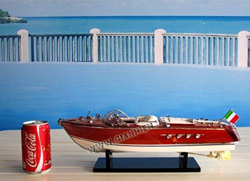 Gia Nhien SB0004P-50 Riva Aquarama Wooden Model Speed Boat