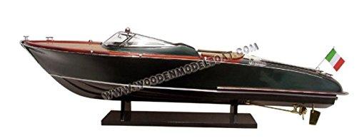 Gia Nhien SB0007P Riva Aquariva Wooden Model Speed Boat