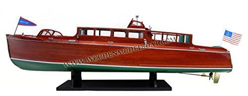 Gia Nhien SB0103P 1929 Chris Craft Commuter Cruiser Wooden Model Speed Boat