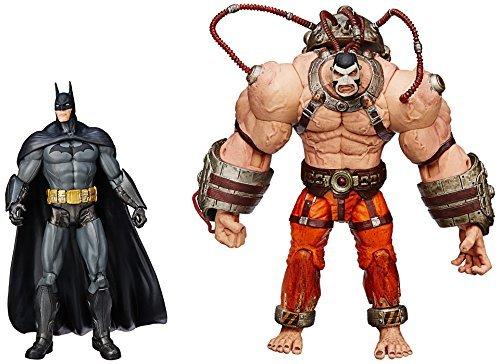 DC Comics Arkham City Batman vs Bane Action Figure Pack of 2 by DC Comics