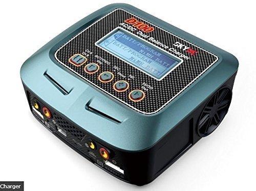 Skyrc ACDC D100 Dual Balance ChargerDischarger for 1-6 Cell LiPoLiFeLilonLiHV Battery1-15 Cell NiMHNiCd Battery