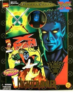 Marvel Comics Famous Covers  Nightcrawler Action Figure