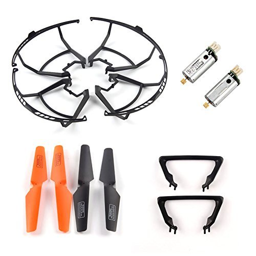 CreaTion Spare Parts Package for UDI U818s Professional Photography Rc Quadcopter Drone