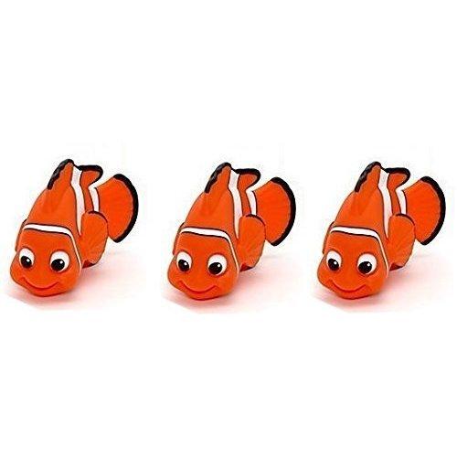 Sassy Products - Disney Nemo Triple Squirt Rubber Bath Toy Bundle