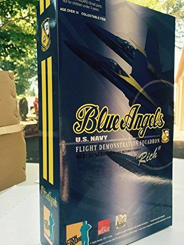 Rich Blakenship US Navy Blue Angels Pilot Action Figure Scale 16 New