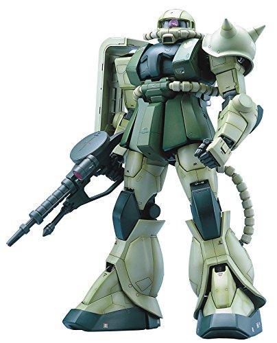 Bandai Hobby MS-06F Zaku II Mobile Suit Gundam Perfect Grade Action Figure Scale 160
