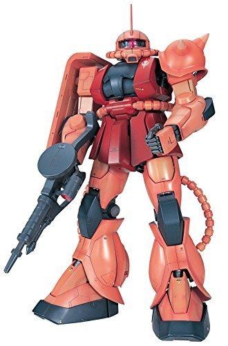 Bandai Hobby MS-06S Chars Zaku II Mobile Suit Gundam Perfect Grade Action Figure Scale 160 by Bandai Hobby