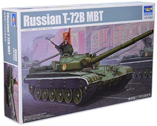 Trumpeter Russian Main Battle Tank Model Kit 135 Scale