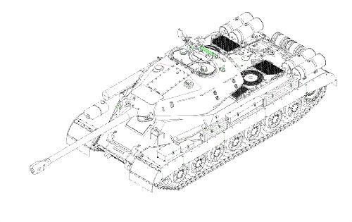 Trumpeter Soviet JS-4 Heavy Tank Model Kit 135 Scale