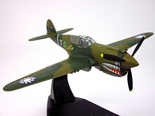 Curtiss P-40 Warhawk Flying Tigers 172 Scale Diecast Metal Model