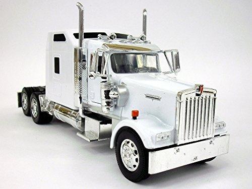 Kenworth W900 Truck Diecast Metal 132 Scale Truck Model - WHITE