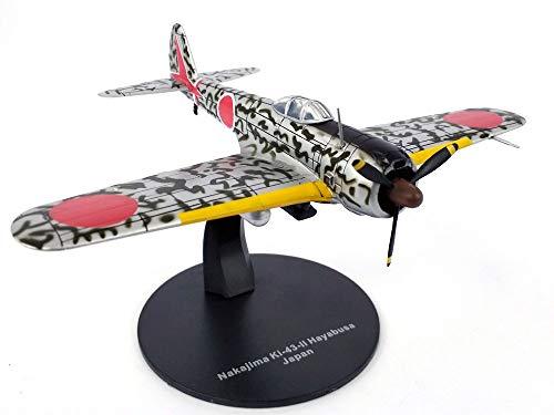 Nakajima Ki-43 Hayabusa Oscar Japanese Fighter 172 Scale Diecast Metal Model