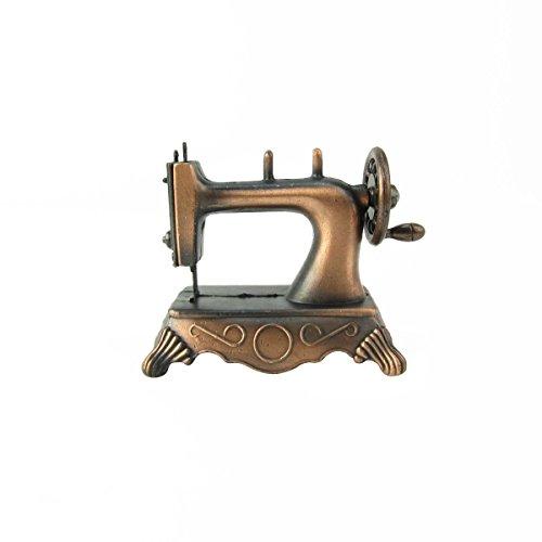Treasure Gurus 16 Scale Model Hand Sewing Machine Dollhouse Miniature Metal Pencil Sharpener