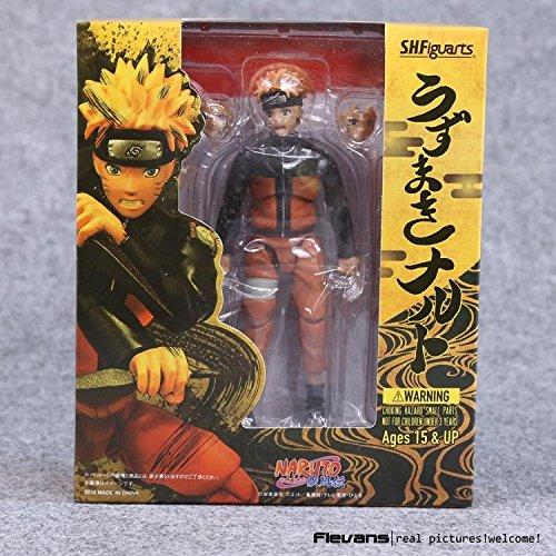 Naruto 14cm Shippuden Uzumaki Naruto  Uchiha Sasuke PVC Action Figure Collectible Model Toys
