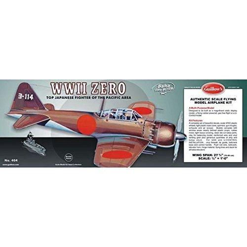 Guillows WWII Zero Laser Cut Model Kit