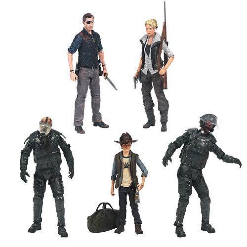 Walking Dead TV Series 4 Action Figure Set