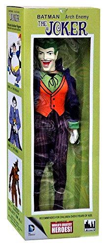 Batman Worlds Greatest Super Heroes Retro The Joker 18 Action Figure by Animewild