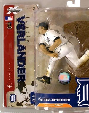 McFarlane Toys MLB Sports Picks Series 18 Action Figure Justin Verlander Det